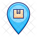 Pin Place Delivery Icon