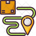 Courier Delivery Driver Icon
