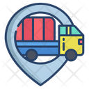 Kartboard Truck Delivery Lovation Icon