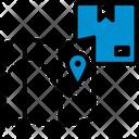 Location Destination Box Icon