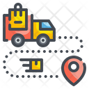 Delivery Location Location Map Icon