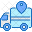 Tracker Logistic Car Icon