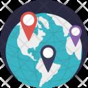 Waypoint Map Locator Icon