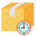 Delivery Logistic Ontime Icon
