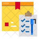 Delivery Logistics List Icon