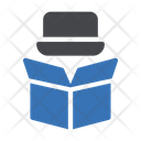 Delivery Magician Hat Magician Hat Parcel Icon