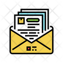 Solicitation Mail Solicitation Budget Icon