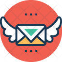 Air Mail Express Icon