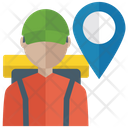 Delivery Man Delivery Services Logistics Services Icon