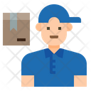 Idelivery Man Delivery Man Delivery Boy Icon