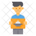Delivery Man Avatar Man Delivery Transport Icon