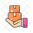 Hand Box Hand Box Icon