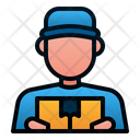 Delivery Man Avatar Delivery Icon