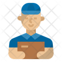 Delivery Man Mail Man Postman Icon