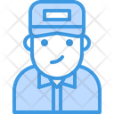 Avatar Delivery Man Icon