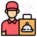 Delivery Man Boy Icon