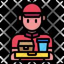 Man Delivery Man Restaurant Icon