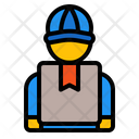 Delivery Man Courier Delivery Icon