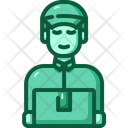 Delivery Man Delivery Boy Delivery Service Icon