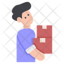 Delivery Man Avatar Icon