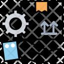 Management Business Logistics Icon