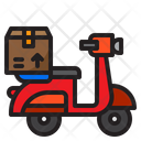 Delivery Motorcycle Delivery Bike Delivery Icon