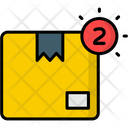 Delivery Notification Alert Box Icon
