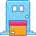 Delivery On Doorstep Icon