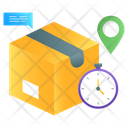Fast Delivery Delivery Time Logistic Delivery Icon
