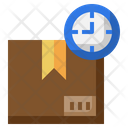 Delivery On Time Shipping Time Delivery Time Icon