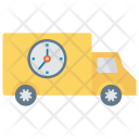 Deadline Delivery Fast Icon