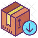 Delivery Package Receive Icon