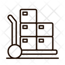 Loader Delivery Shipping Icon