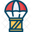 Delivery, Parachute Icon