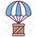 Delivery Parcel Air Icon