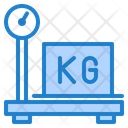 Delivery Parcel Weight Scale Icon