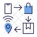 Delivery Path Icon