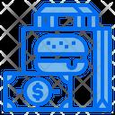 Delivery Money Bag Icon
