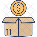 Percel Package Delivery Icon