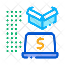 Payments Laptop Digital Icon