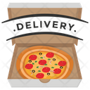 Delivery Pizza Icon