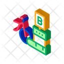 Delivery Point Bike Icon