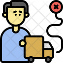 Delivery Problem Distribution Shipping Icon