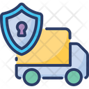 Delivery Protection Security Safety Icon