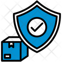 Protection Shield Shipping Icon