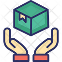 Delivery Protection Logistics Care Package Protection Icon