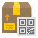 Delivery Qr Code Icon