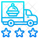 Delivery Food Truck Icon