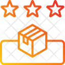 Delivery Service Feedback Rating Icon