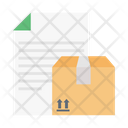 Delivery Report Parcel Icon